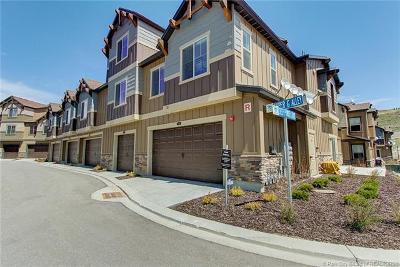 Heber City Condo/Townhouse For Sale: 13598 N Super G Lane