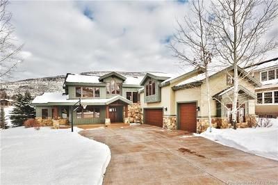 Park City Single Family Home For Sale: 3234 Creek Road