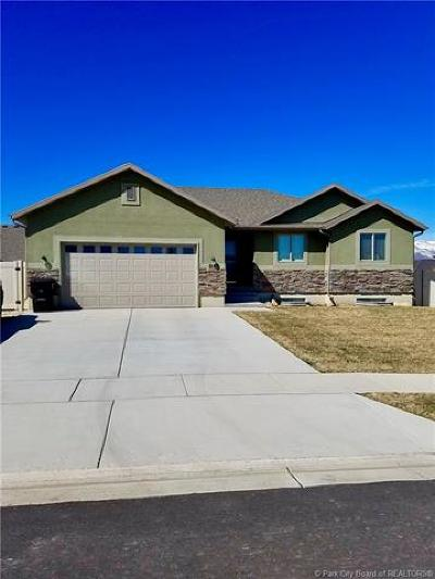 Heber City Single Family Home For Sale: 2140 S Baxter