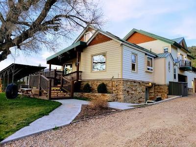 Oakley, Peoa Single Family Home For Sale: 5362 Woodenshoe Lane