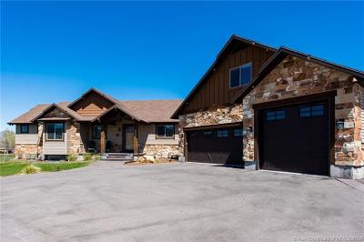 Heber City Single Family Home Active - Time Clause: 3225 Wild Mare Way