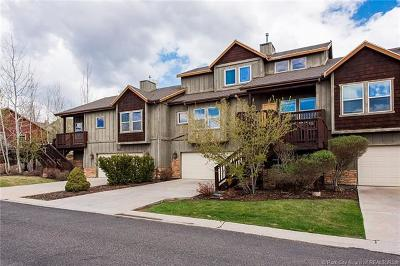 Heber City Condo/Townhouse For Sale: 12268 N Ross Creek Drive