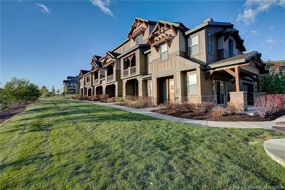 Heber City Condo/Townhouse For Sale: 13392 N Alexis Drive