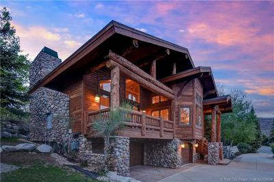 Park City Single Family Home For Sale: 3555 Oakwood Drive