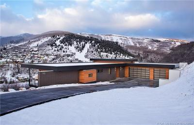 Park City Single Family Home For Sale: 725 Mellow Mountain