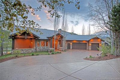 Park City UT Single Family Home For Sale: $1,850,000