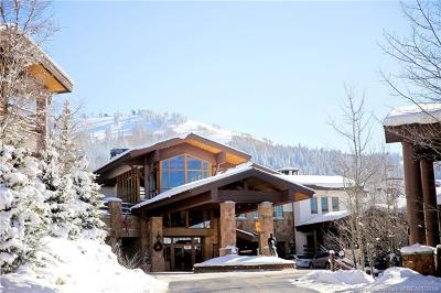 Park City Condo/Townhouse For Sale: 7700 Stein Way #102