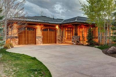 Park City Single Family Home For Sale: 3249 Mountain Top Lane