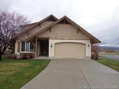 Midway Single Family Home For Sale: 4 W Oberland Court