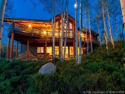 Heber City Single Family Home For Sale: 11499 E Cliffrose Drive
