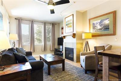 Park City Condo/Townhouse For Sale: 6605 N 2200 W #106