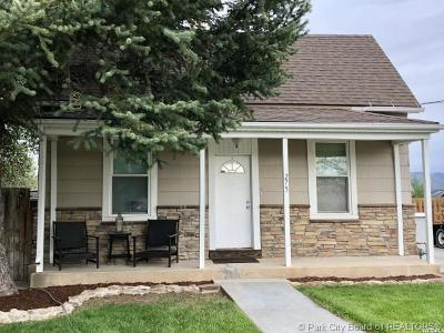 Heber City Single Family Home For Sale: 275 S 500 East