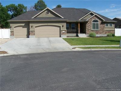 Heber City Single Family Home For Sale: 1170 E Millers Court