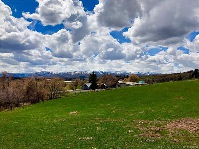 Oakley, Peoa Residential Lots & Land For Sale: 965 E Weber Canyon