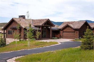 Heber City Single Family Home For Sale: 6617 E Broken Stick Court