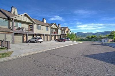 Heber City Condo/Townhouse For Sale: 1291 W Black Rock Trail #G