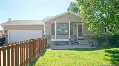 Heber City Single Family Home For Sale: 203 N Mill Road