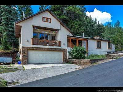 Park City Single Family Home For Sale: 540 Crestview