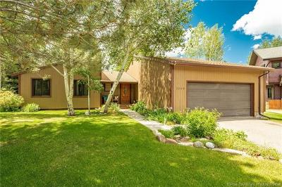 Park City Single Family Home For Sale: 2208 Sunset Court