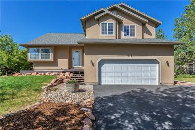 Park City Single Family Home For Sale: 1619 W Pheasant Way