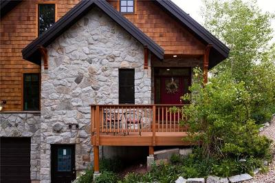 Oakley, Peoa Single Family Home For Sale: 158 Aspen Mountain