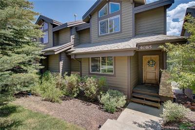 Park City Condo/Townhouse For Sale: 4085 Saddleback