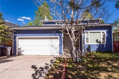 Park City Single Family Home For Sale: 2198 Sunrise Circle