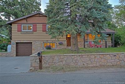 Park City Single Family Home For Sale: 740 Aspen Drive