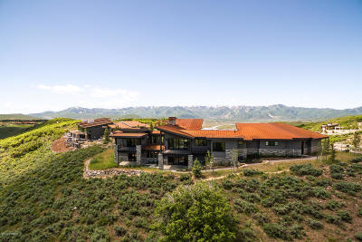 Park City Single Family Home For Sale: 8786 Promontory Ridge Drive
