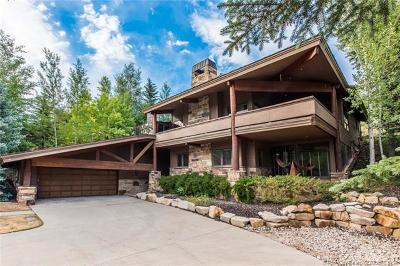 Park City Single Family Home For Sale: 3080 Thistle Street