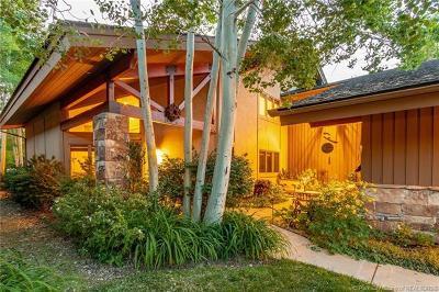 Park City Condo/Townhouse For Sale: 2758 Estates Drive