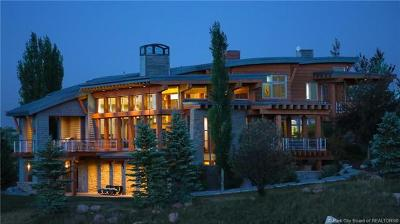 Park City UT Single Family Home For Sale: $4,650,000