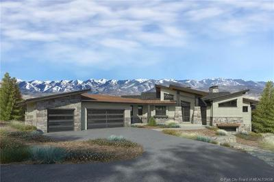 Park City Single Family Home For Sale: 6185 Dakota Trail
