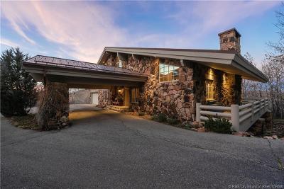 Park City Single Family Home For Sale: 2515 Aspen Springs Drive
