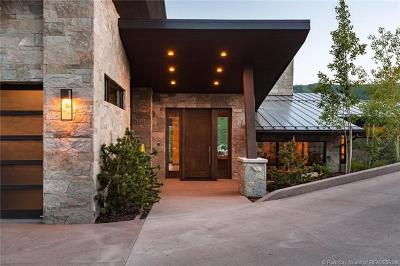 Park City Single Family Home For Sale: 1412 Wild Rose Court