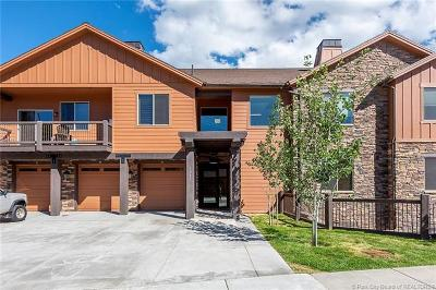 Heber City Condo/Townhouse For Sale: 1261 W Black Rock #F