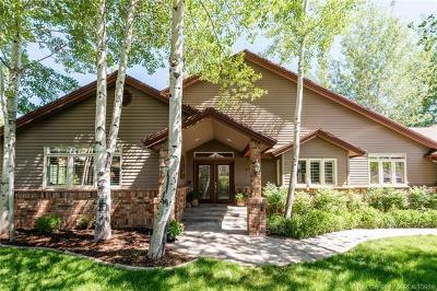 Park City Single Family Home For Sale: 3770 W Lariat Road