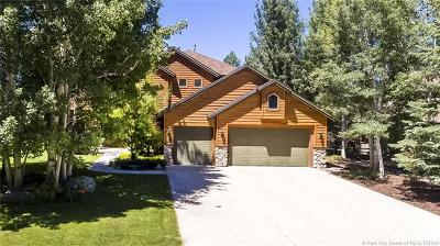 Park City Single Family Home For Sale: 1176 Cutter Lane