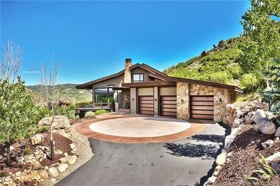 Park City Single Family Home For Sale: 1727 E Canyon Gate Road