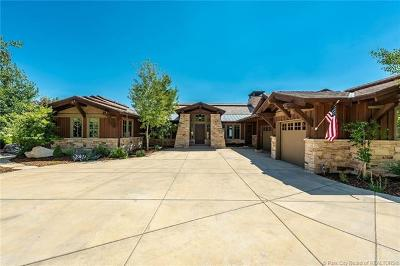 Tuhaye, Red Ledges Single Family Home For Sale: 9910 N. Uinta Drive