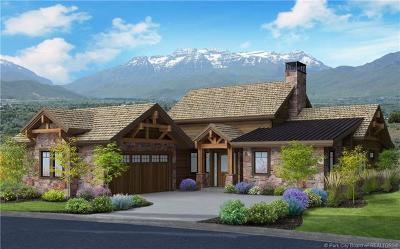 Tuhaye, Red Ledges Single Family Home For Sale: 71 N Club Cabins Ct (Lot Cc-19)