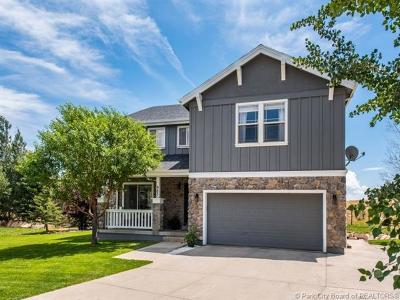 Park City Single Family Home For Sale: 983 Mountain Willow Lane