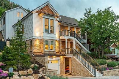 Park City Single Family Home For Sale: 543 Woodside Avenue