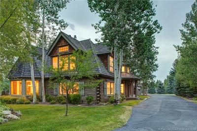 Park City UT Single Family Home For Sale: $3,750,000