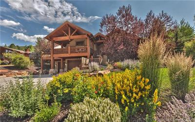 Park City Single Family Home For Sale: 8950 N Flint Way