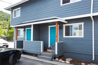 Park City Condo/Townhouse For Sale: 1384 Park Avenue #6
