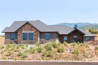 Kamas UT Single Family Home For Sale: $1,250,000