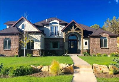 Heber City Single Family Home For Sale: 2860 E Lindsay Ridge Road