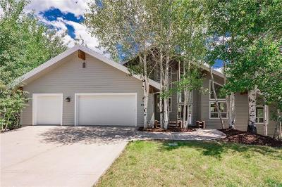 Park City Single Family Home For Sale: 8942 Lariat Road