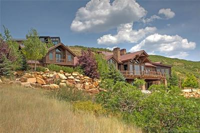Park City Single Family Home For Sale: 11362 N Snowtop Rd